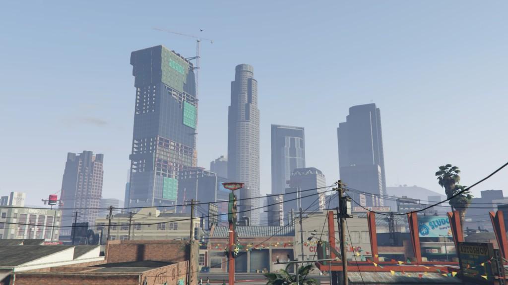 Los Santos skyline