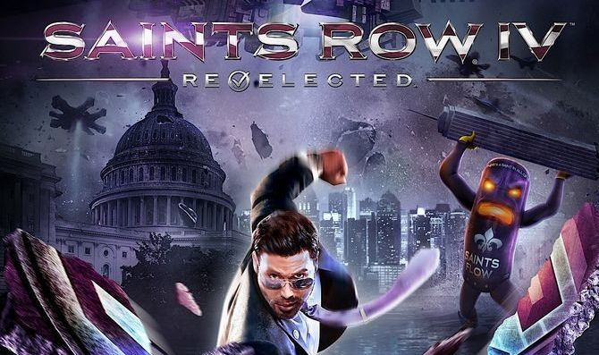 Cover of Saints Row IV: Re-elected from dualshockers.com