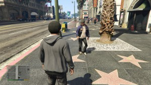 The Vinewood Walk of Fame