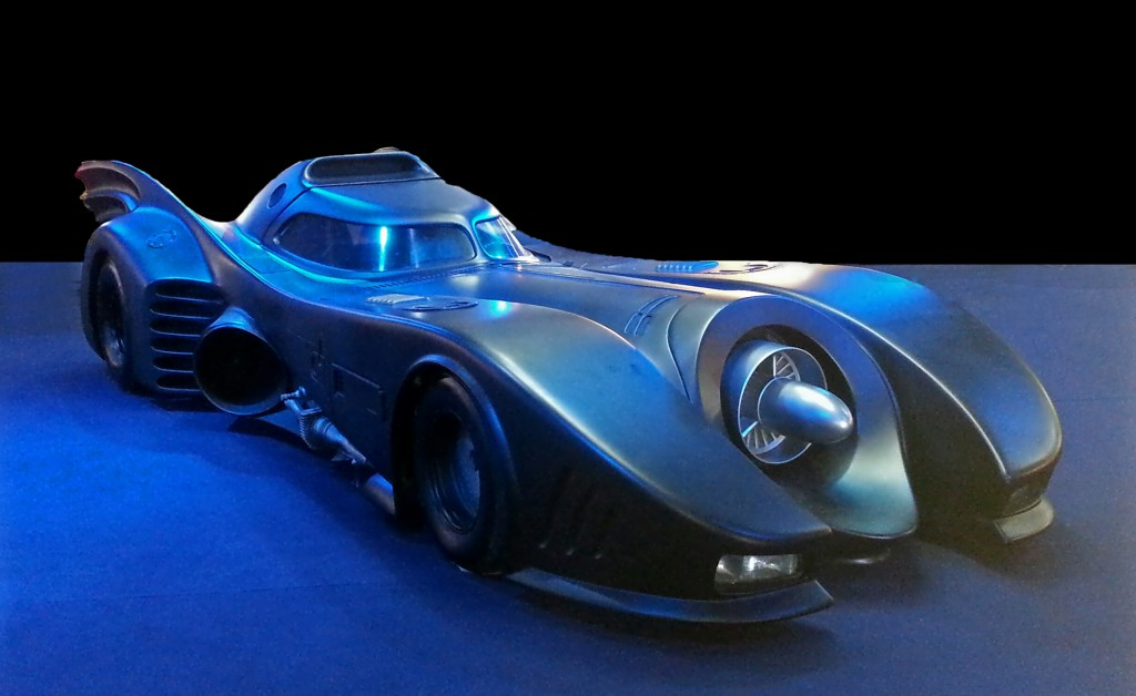 Batmobile from 1989 Batman movie (image from Wikipedia)