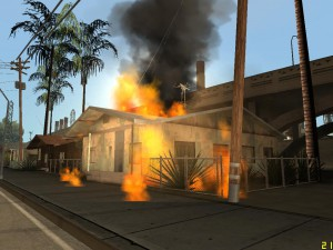 Image from gta.wikia.com. Riot in Los Santos