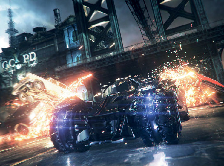 Pic of Batman Arkham Knight from Flickr