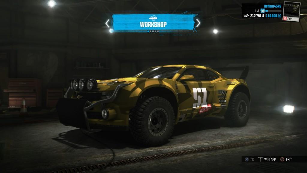 My R series Camaro