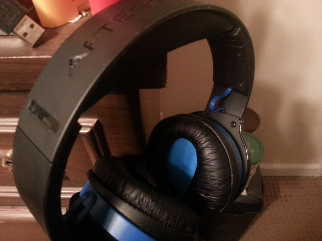 My Afterglow Wireless Headset for the PS4.