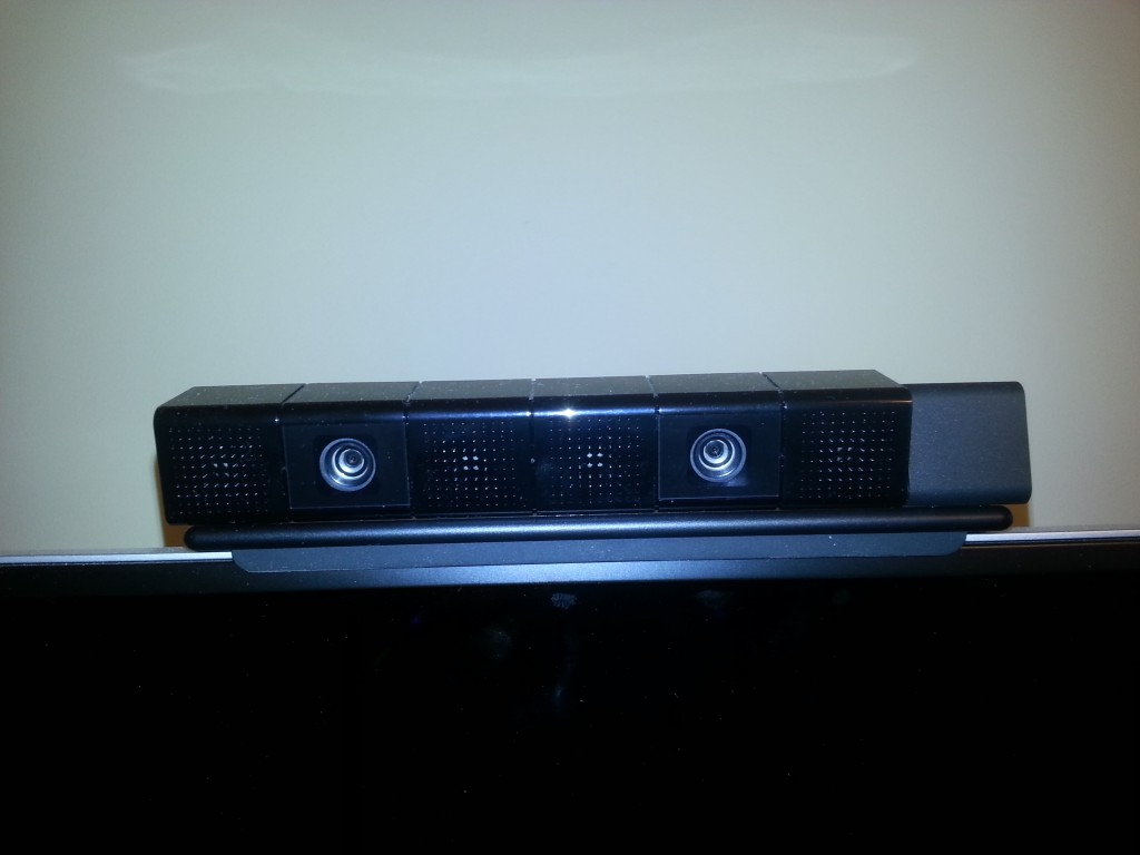The front of my PlayStation 4 Camera