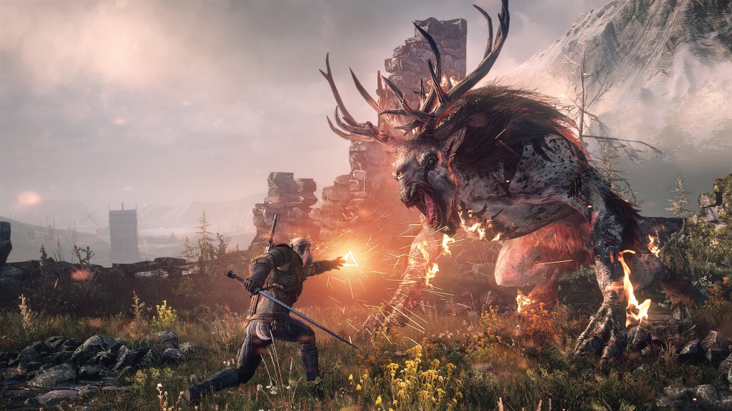 Awesome Witcher 3 image from Gamespot.com