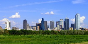Dallas skyline from wikipedia