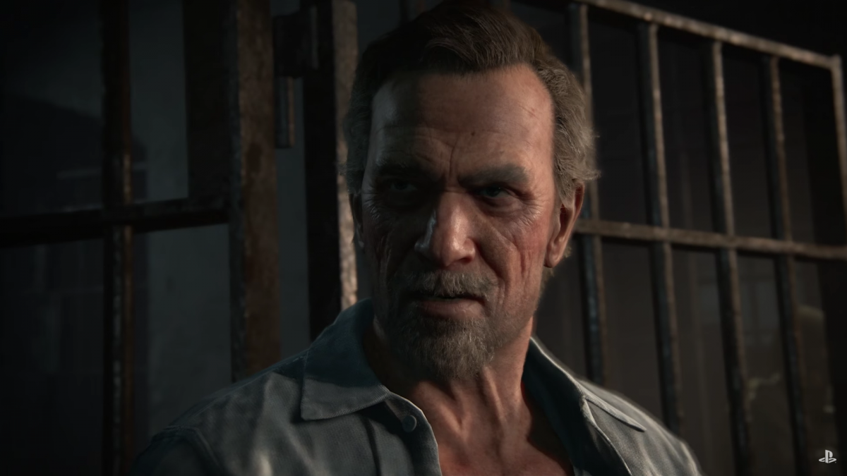 Screenshot of a character from Uncharted 4. Screenshot courtesy of Business Insider