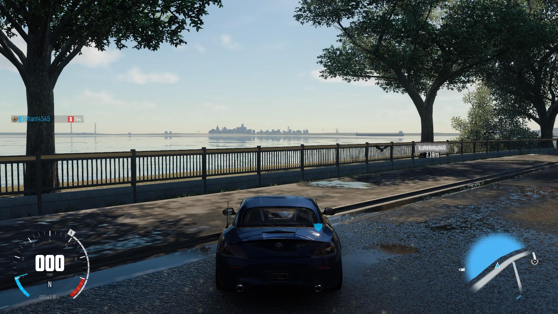 Detroit Skyline in the distance