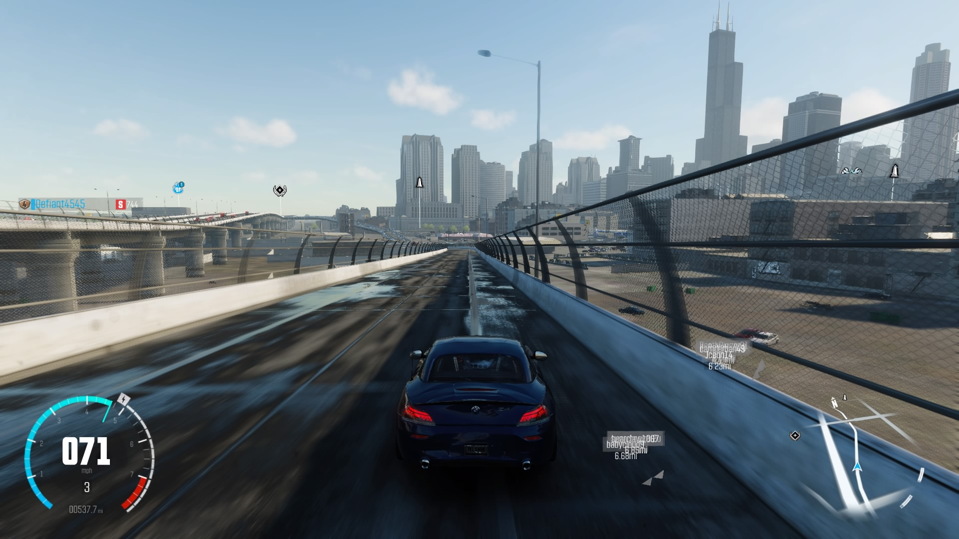 The Crew S Chicago Compared To Real Chicago Ps4 Driving