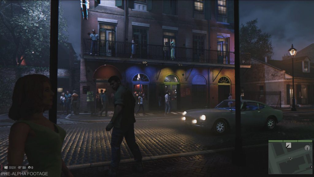 Main character Lincoln in the French district. Image from dualshockers.