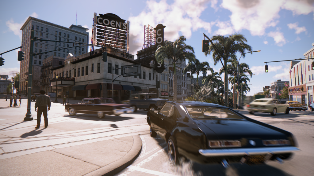 Picture of a muscle car in Mafia 3. Image from Gamespot.