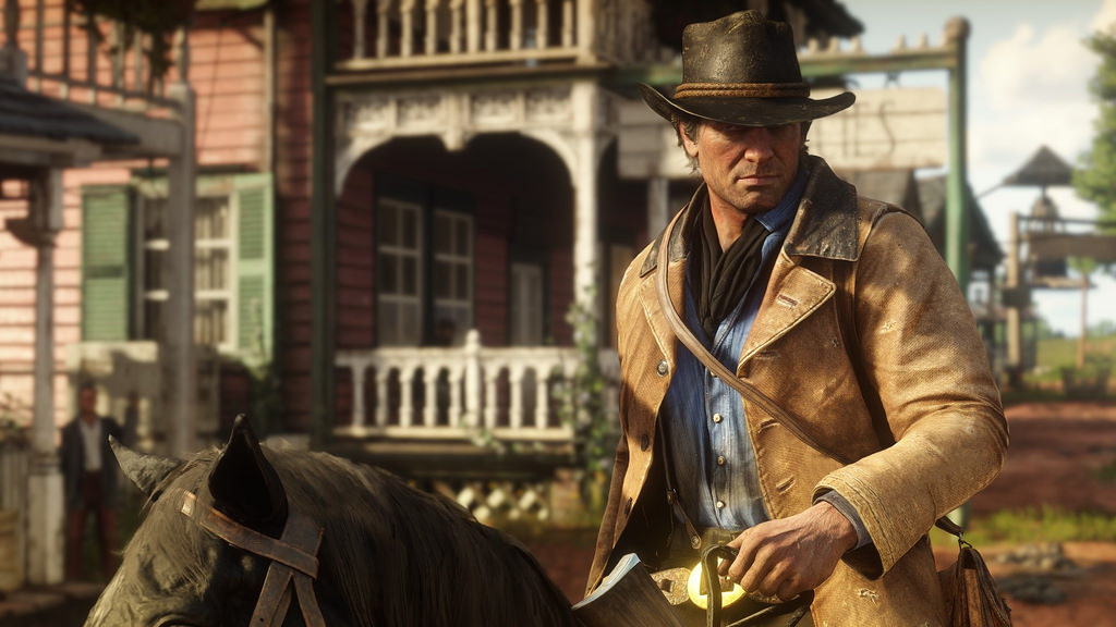 Arthur Morgan of the Van Der Linde Gang
